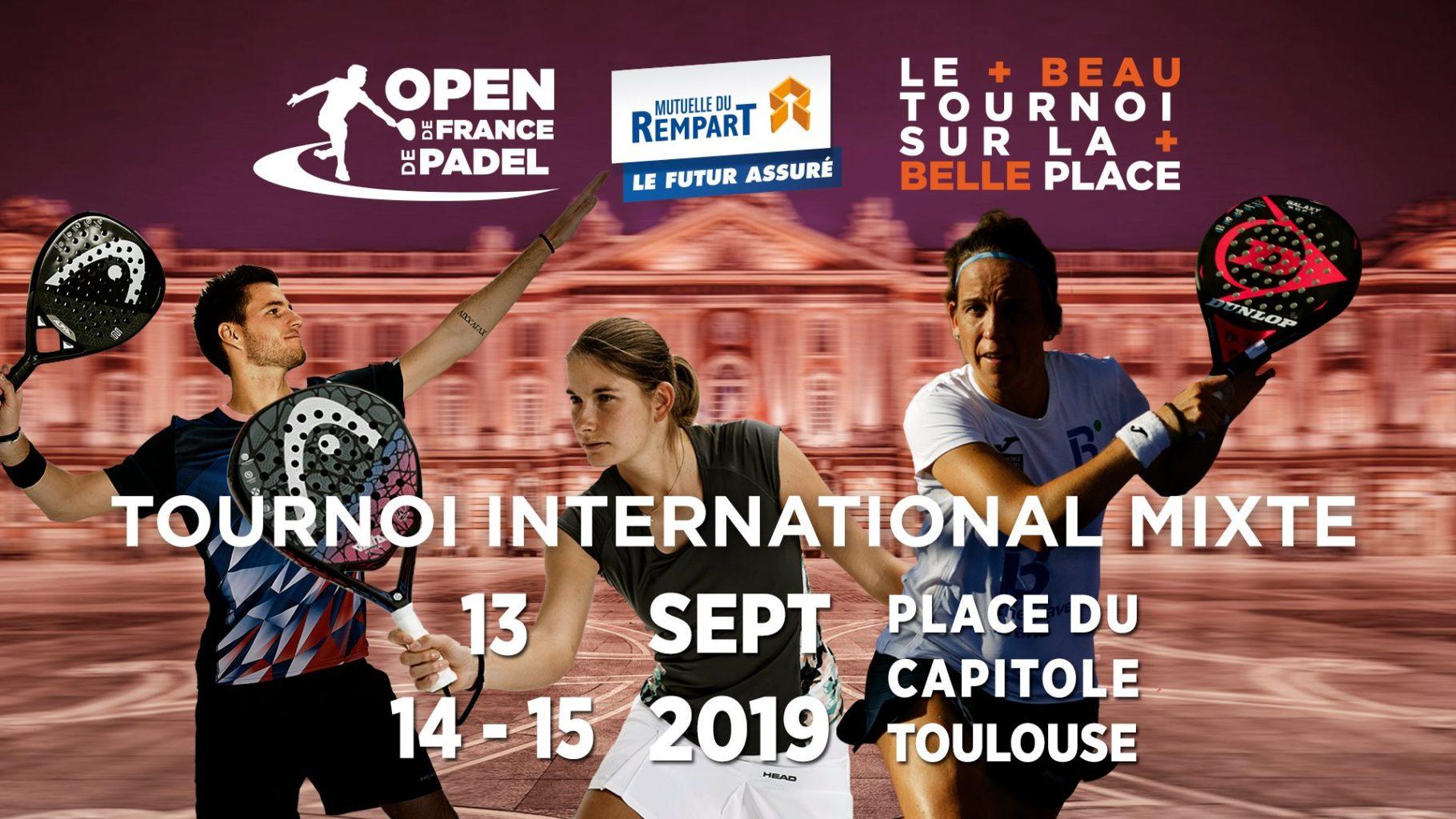 Affiche Open de France de Padel 2019