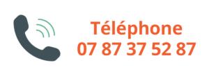 Téléphone 07 87 37 52 87